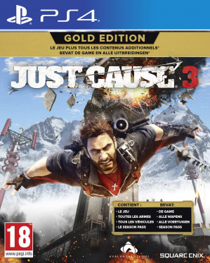Just Cause 3 Gold Edition - PS4 voor €19,99