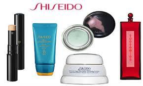 Diverse Shiseido cosmetica tot 67% korting