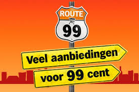 Albert Heijn Route 99 veel aanbiedingen voor €0,99