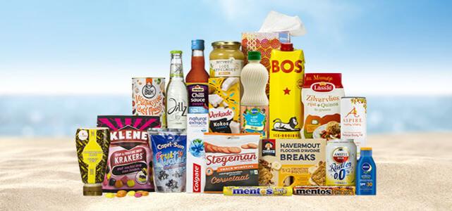 Zomerboodschappenpakket voor €12,95