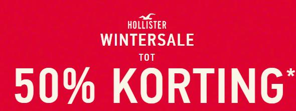 Hollisterco sale tot 50% korting + 20% extra korting als Club member