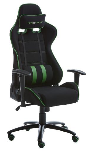 Bureaustoel LANGEMARK gaming zwart/groen voor €108