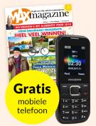 MAX Magazine 52 weken + Swisstone telefoon Gratis €56,50