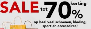 Bristol Sale tot 70% korting op schoenen, kleding, sport en accessoires