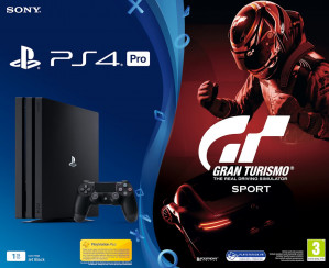 Sony PlayStation 4 Pro Gran Turismo Sport Console - 1TB - PS4 Zwart voor €350