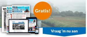 2 weken Dagblad van het Noorden of Leeuwarder Courant Gratis