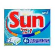 Sun Vaatwastabletten All-in-One  5 verpakkingen voor €10