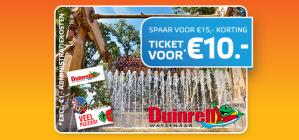 Tickets Duinrell voor €11