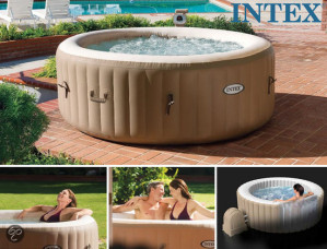 Intex Pure Spa Bubble Therapy - Opblaasbaar Bubbelbad voor €299 ( vanaf 26 mei )