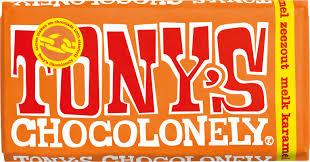 Gratis Tony Chocolonely bij je bestelling