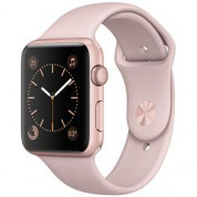 Apple smartwatch WATCH S1 42MM ROSE G ALU/PINK S BND voor €211,75