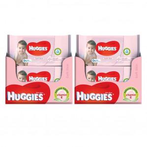 Huggies billendoekjes 20 pakjes van 56 doekjes voor €12,96