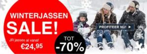 Avantisport sale met Winterjacks tot 70% korting