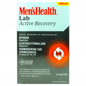 Mens Health Active Recovery 42 Tabletten voor €0,49