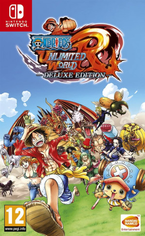 One Piece Unlimited World Red -  Deluxe Edition - Switch voor €33