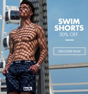 50% korting op zwembroeken