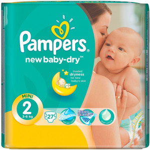 Pampers Protection, New Baby, of Pants de 2e gratis
