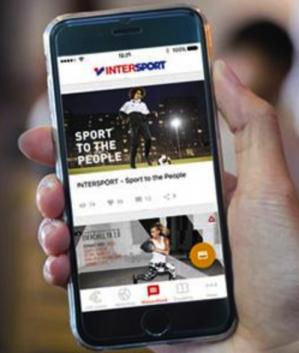 €5 korting via de intersport app
