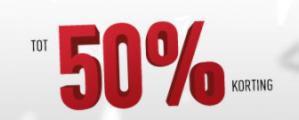 Reebok sale met 50% korting