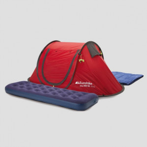 Eurohike  all-in-one campingset voor €45 dmv code
