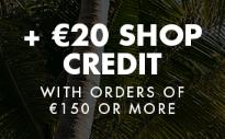 €20 korting op je volgende bestelling