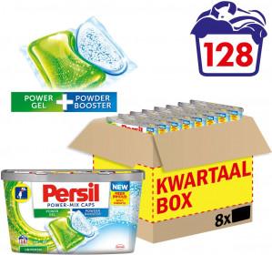 Persil Power-Mix caps Universal - Kwartaalbox - 128 wasbeurten voor €19,99
