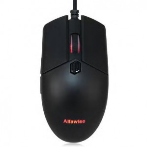 Alfawise V10 A3050 USB Wired Gaming Mouse  BLACK voor €8,24