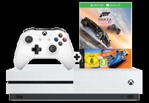 MICROSOFT Xbox One S 500 GB + Forza Horizon 3 en Hot Wheels voor €189