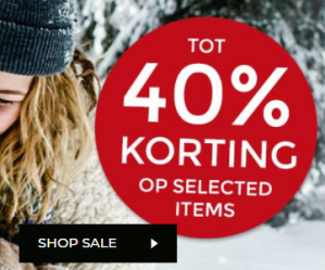 Bomont sale met 40% korting