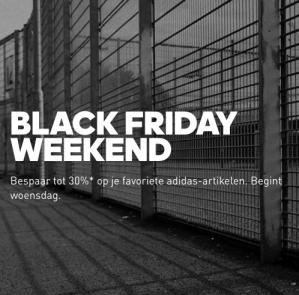 VOORAANKONDIGING Ontvang 30% korting op geselecteerde items in de Adidas webshop