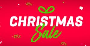 Body & Fit shop Christmas sale met diverse kortingen