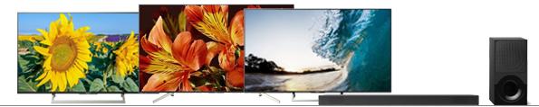 10% korting op geselecteerde televisies en soundbars van Sony