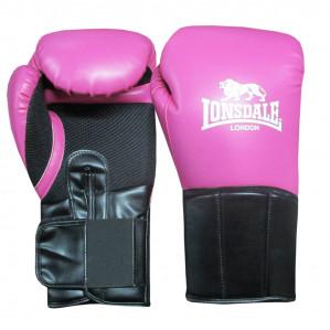 Lonsdale Performer bokshandschoen Dames - Roze/Zwart - 12 oz voor €29,45