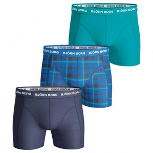 Bjorn Borg 3 Pack Shorts BB Check voor €25