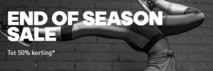 Adidas End of Season sale  tot 50% korting