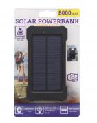 Solar powerbank 8000 mAh voor €9,95