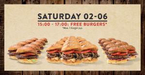 2 uur Gratis hamburgers eten bij Johnny's Burger Company in Amersfoort