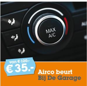 Airco onderhoudsbeurt voor €35