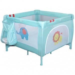 Eco Baby Jungle Mint Deluxe Inklapbare Box en Campingbed voor €29,99