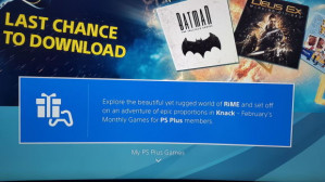 Gratis Playstation Plus games van februari
