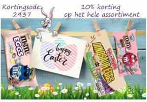 10% korting op alles bij Candyonline