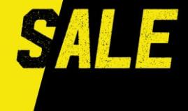 Aktiesport sale met 50% extra korting op elke 2e artikel van de sale van 70%