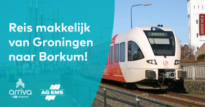 CombiDagticket Borkum Trein en Boot voor €19,95