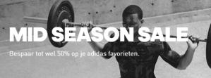 Adidas Mid season SALE tot 50% korting
