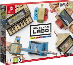 Nintendo Labo - Mixpakket voor €60,90