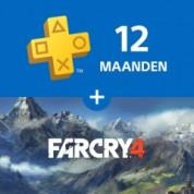 12 maanden Playstation + Gratis Far Cry 4 voor €59,99