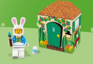 Gratis LEGO® paashaashut bij aankoop vanaf €35