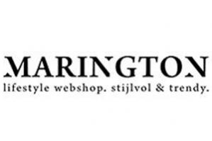 Kortingscode Marington voor 10% korting op de gehele collectie