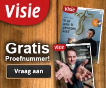 Proefexemplaar TV gids 'Visie' Gratis