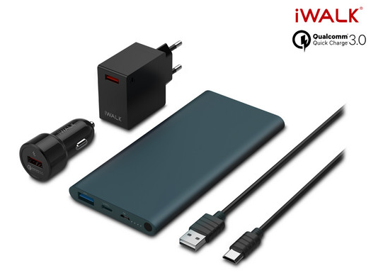 iWALK Quick QC 3.0 Charging Pack voor €26,95